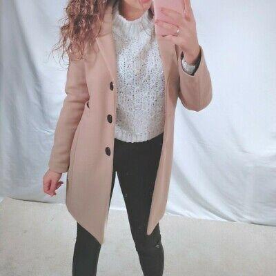 Cappotto cappottino corto donna giaccone giacca blazer bottoni elegante 2165-aa