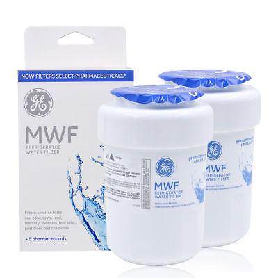 2Pack Genuine GE MWF MWFP GWF 46-9991 Smartwater Fridge Water Filter Pitcher New