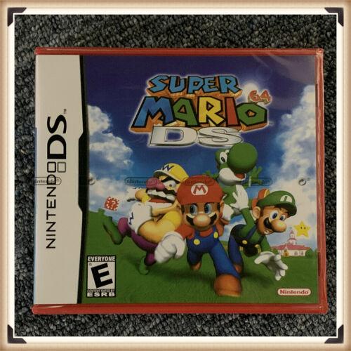Super Mario 64 DS (Nintendo DS, 2004) Complete *Factory Sealed* Authentic
