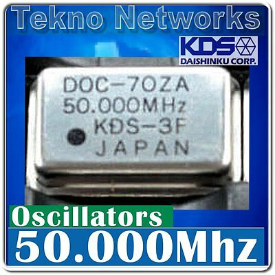 Kds - Doc-70 50.000mhz Crystal Oscillators - 4pcs  Doc70za-50.000mhz 50mhz