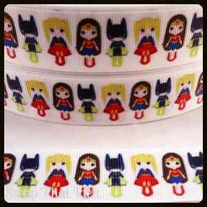 Girly Superhero's RIBBON. 7/8
