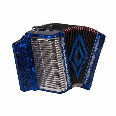 Montanari 3112 MG Accordion EAD Blue