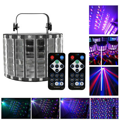 Disco Part (DJ Sound Active LED Laser Stage Lighting Effect RGBW Show  Bar Disco Part)