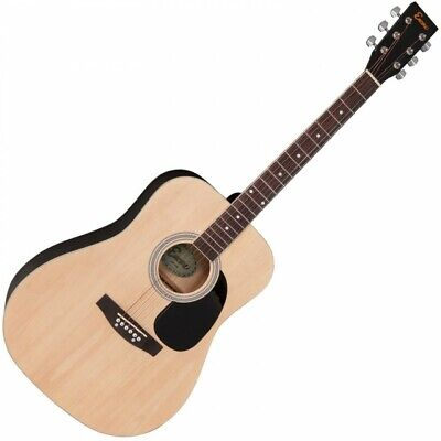 ENCORE ACOUSTIC GUITAR ~ NATURAL