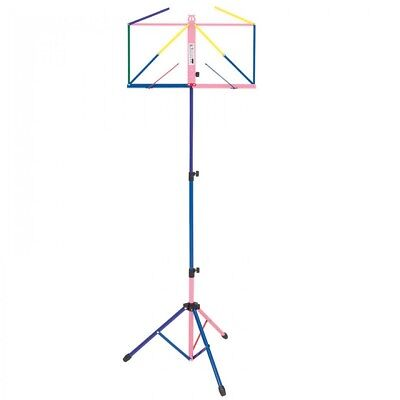 Kinsman Deluxe Music Stand & Bag - Multi-Coloured