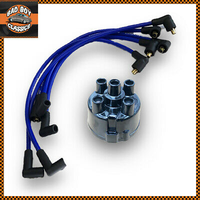 AccuSpark 8mm Silicone HT Leads+ 45D Distributor Cap MGB 1974-1981