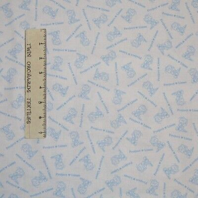 Charlie Brown Baby Costume (Nursery Baby Fabric - Project Linus Charlie Brown Blue QT Quilting Treasure)