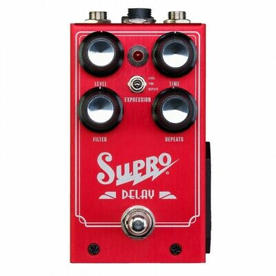 Supro Analog Delay Effect Guitar Pedal