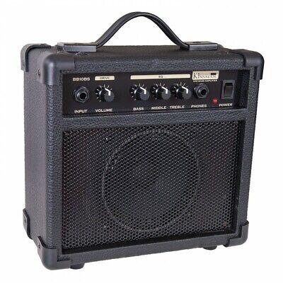 Kinsman 10w Practice Bass Guitar Amplifier Amp Combo - BB10BS