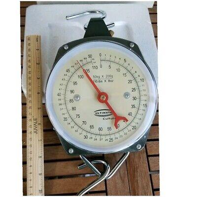 Berkley Fishin/' Gear Portable Dial Scale 50lb//22kg /&Tape Measure BTFST50 1318357