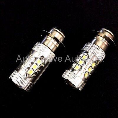 Fits Honda Super White LED Headlights Bulbs 80W Upgrade 2 Pack