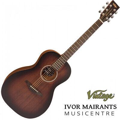 Vintage Paul Brett Signature Statesboro' Acoustic Parlour Guitar - Whisky Sour