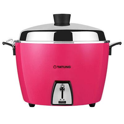 New Tatung TAC-10L 10 CUP Rice Cooker Pot Voltage AC 110V - Pink