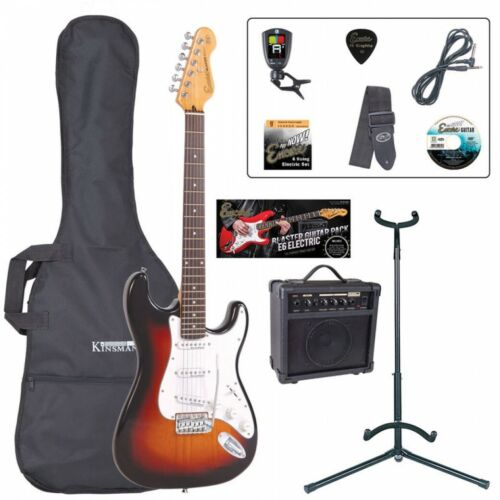 Encore E6 Electric Guitar Outfit - Sunburst Learner Beginner Starter Package