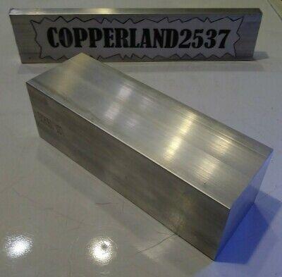 1 Pc 2 X 2 X 6 Long New 6061 T6511 Solid Aluminum Stock Plate Flat Bar Block