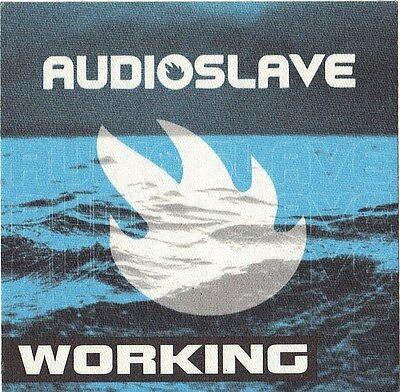 AUDIOSLAVE 2000's Concert Tour Backstage Pass!!! Authentic Original