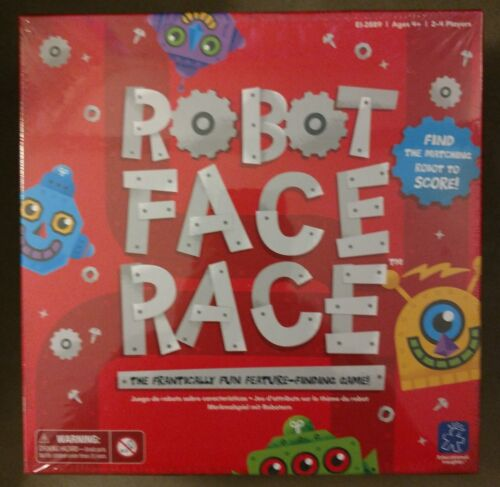 Educational Insights Robot Face Race Game - Matching - 2 to