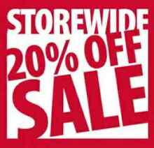 FISH HAVEN 20% OFF ABSOLUTELY EVERYTHING ENDS SUNDAY 29TH MAY Para Hills West Salisbury Area Preview