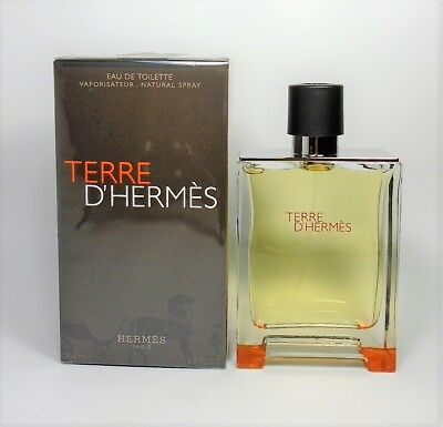 Terre D'hermes by Hermes EDT for Men Spray 6.7 oz - 200 ml *NEW IN SEALED BOX*