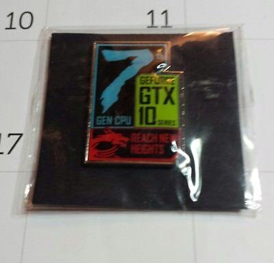 Gtx Cpu (7th GEN CPU GeForce GTX 10 series . Reach New Heights Pin )