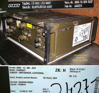 Ant Selex Ltu-oa01 Laser Lichtsignal Sender Empfnger Hdb3 Sig Wandler Cim Lwl Y