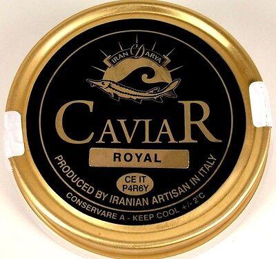 100g Royal Caviale Malossol,Mahfouz caviale italia + 1Perlmutt-cucchiaio