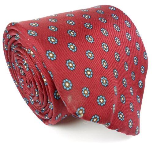 "Lands' End EUC Vintage Gentleman's Dot Pattern All Silk Tie Mens 58"" L 3 1/4"" W"