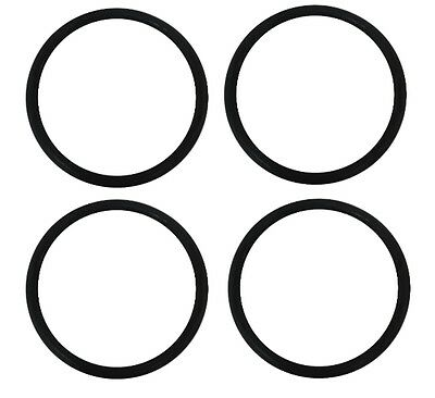 Belt 4 pack for EUREKA Round Upright Vacuum - Upright Vacuum Cleaner Round Belts