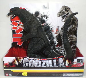 Godzilla 12 Inch High Final Wars Bandai Action Figure 60th Anniversary Edition