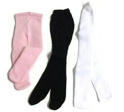 Pink, Black, & White Tights made for 18
