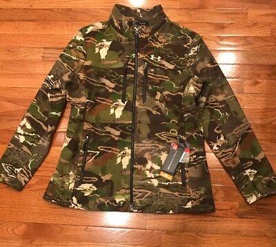 f18faa19040ec Under Armour Mid Season Wool Camo Womens Hunting Jacket 1297842 2XL XXL NWT  $250