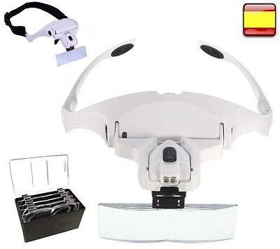 Lupa de Relojero Joyero Reparar Electrónica Soldar precisión gafas para Leer