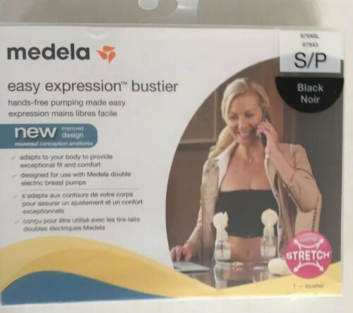 Lot Of Medela Easy Expression Bustier Black Sz 4 S/P, 6 Med, 5 Lg, New - $225.00