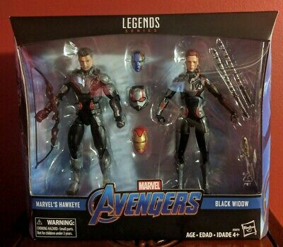 Marvel Legends 2 pack Hawkeye & Black Widow Avengers Endgame Target - Black Widow Avengers 2