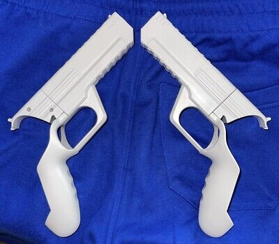 Pistol Gun Grip For Oculus Quest 2 VR Headset Controllers for Shooting Games