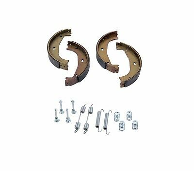 For BMW E36 318 323 325 Brake Shoe Set for Parking Brake+Brake Hardware Kit