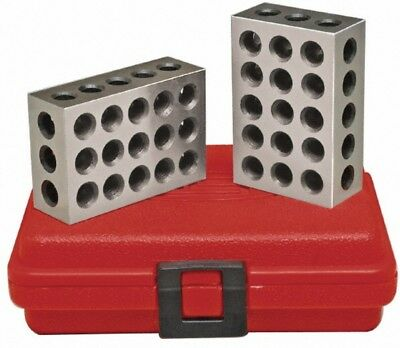 Spi 13-672-1 Precision 2-3-4 Block Set Hardened And Ground Steel With Case