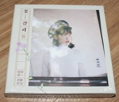 IU 꽃갈피 Flower Bookmark 2nd Remake Album K-POP CD
