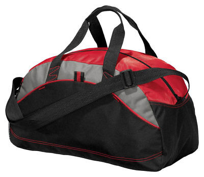 NEW Port & Company Improved Small Duffel Bag Gym Travel Carry On Bag - Small Duffle
