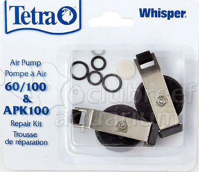 Tetra Whisper Replacement Air Pump Diaphragm Repair Kit Assembly 60 & 100 APK100