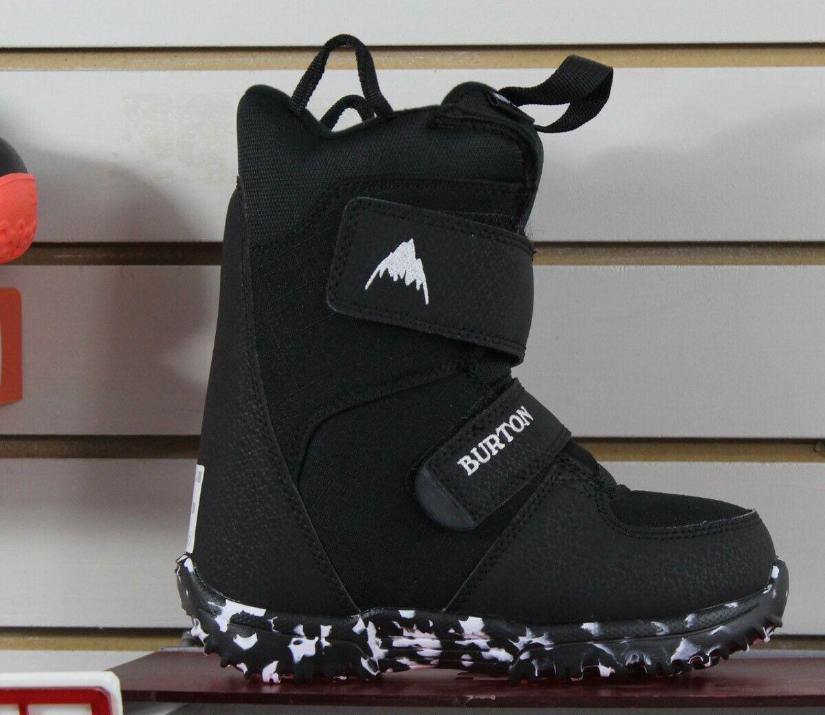 Burton Mini-Grom Kids Snowboard Boots 13C Mini Grom Black Ne