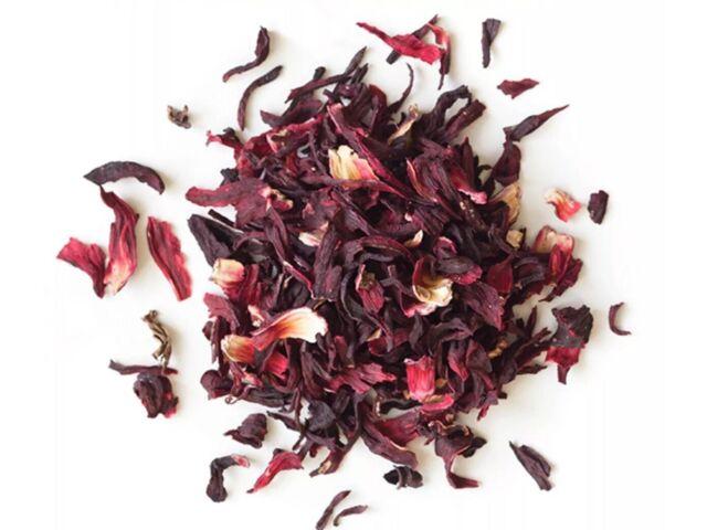 Dried Hibiscus Flower  8oz/ Flor de Jamaica Caffeine Free/ Free Shipping