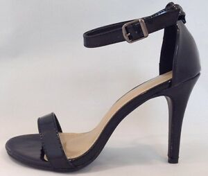 Black Gold High Heel Shoes