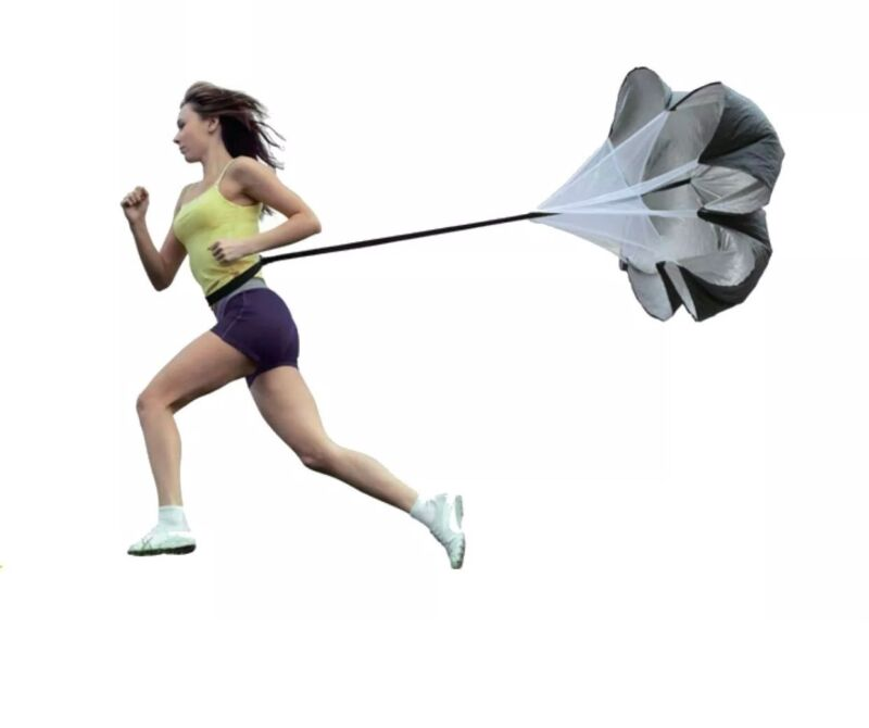 Resistance Parachute YIMAN 56 Inch Running Parachute for Power Speed