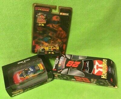 1997 ~ERNIE IRVAN ~ NASCAR #36 SKITTLES ~ M&M 3D Car ~ TEXACO SOCKS #28 - Skittles Socks