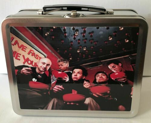 Simple Plan ULTRA RARE promo metal lunchbox - NEVER USED