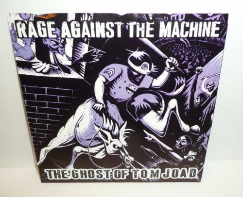 Rage Against The Machine Band Single Vinyl The Ghost of Tom Joad PURPLE Record