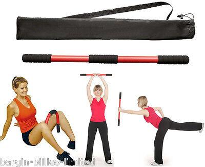 NEW MINI SWINGSTICK EXERCISER FITNESS SWING BAR ARM BODY MUSCLE STRENGTHENING