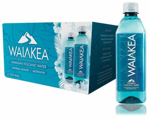 Waiakea Hawaiian Volcanic Water, Naturally Alkaline, 100% Recycled Bottle