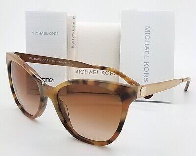New Michael Kors sunglasses MK2058 331113 Brown Gradient Cat Eye Butterfly (Brown Cat Eye Sunglasses)